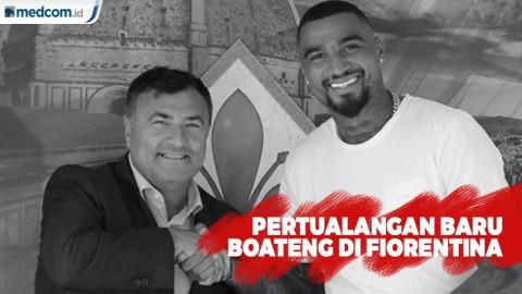 Pertualangan Baru Kevin Prince Boateng di Fiorentina