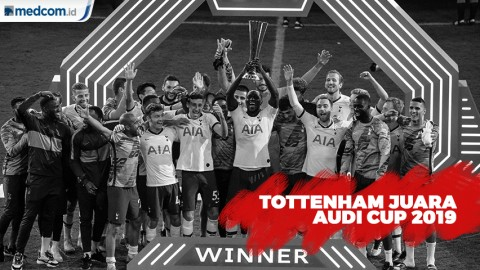 Tottenham Juara Audi Cup 2019