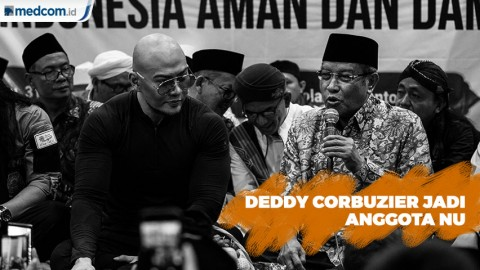 Deddy Corbuzier Resmi Diterima Jadi Anggota NU