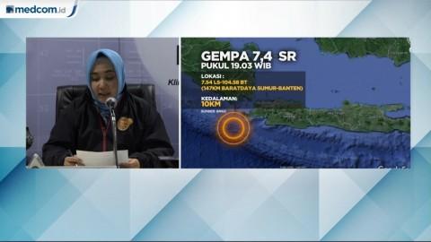 Belum Cabut Peringatan Potensi Tsunami, BMKG Tunggu hingga 2 Jam