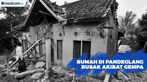 Data BPBD, 94 Rumah Mengalami Kerusakan di Pandeglang