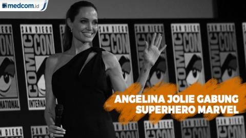 Angelina Jolie Akan Gabung di Film Superhero Marvel
