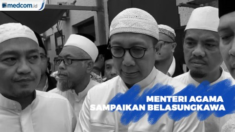 Menteri Agama Sampaikan Belasungkawa Wafatnya Mbah Moen