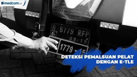 Deteksi Pemalsuan Pelat Kendaraan Dengan E-TLE