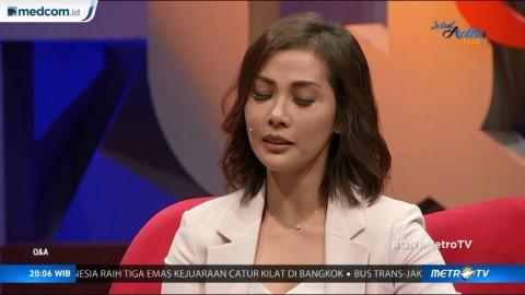 Cerita Nadia Mulya Temani Ayahnya Naik Mobil Tahanan