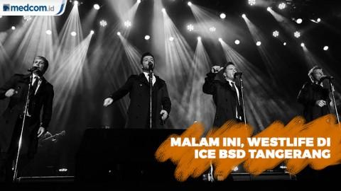 Westlife Gelar Konser di 4 Wilayah Indonesia