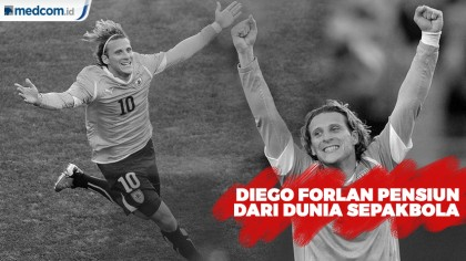 Diego Forlan Pensiun dari Dunia Sepakbola