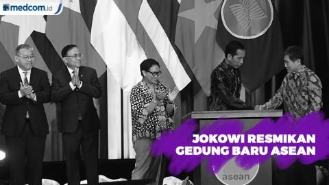 Presiden Jokowi Resmikan Gedung Baru ASEAN