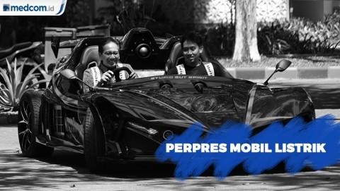 Resmi, Jokowi Teken Perpres Mobil Listrik