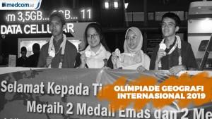 Indonesia Jadi Juara Umum Olimpiade Geografi Internasional 2019