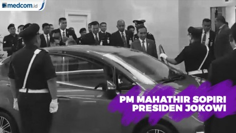 PM Mahathir Sopiri Jokowi di Malaysia