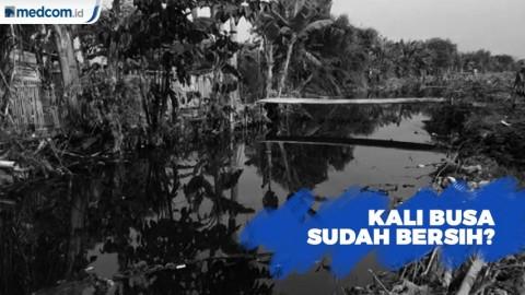 Kali Busa di Kabupaten Bekasi Sudah Bersih?