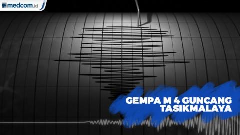 Gempa M 4 Guncang Tasikmalaya