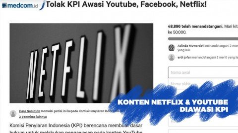 Netflix dan Youtube Akan Diawasi KPI