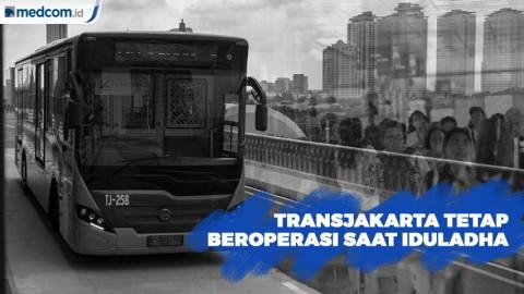 TransJakarta Tetap Beroperasi Saat Idul Adha