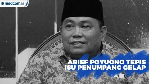 Arief Poyuono Sebut Isu Penumpang Gelap Cuma Isapan Jempol