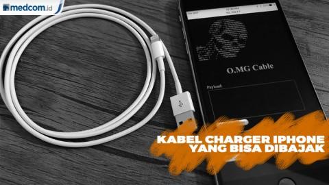 Hacker Ciptakan Kabel Charger iPhone yang Bisa Dibajak