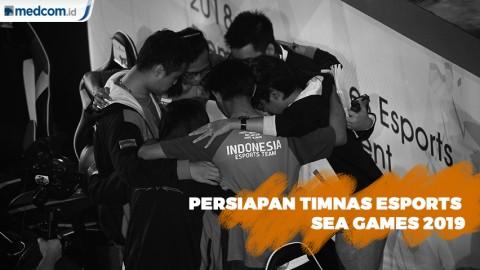 Persiapan Timnas Esports Indonesia Jelang Sea Games 2019