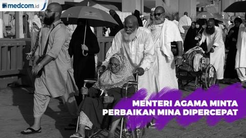 Menteri Agama Minta Perbaikan Mina Dipercepat