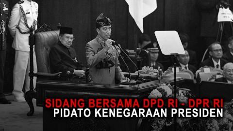 Sidang Bersama DPD RI - DPR RI: Pidato Kenegaraan Presiden RI - Part 1