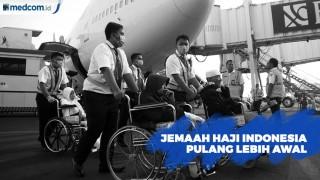 187 Jemaah Haji Indonesia dipulangkan Lebih Awal