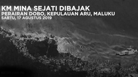 Dugaan Pembajakan KM Mina Sejati di Maluku