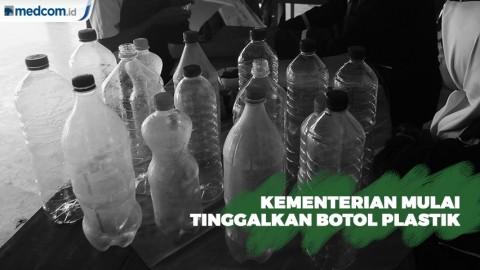 Sejumlah Kementerian Mulai Kurangi Plastik Sekali Pakai