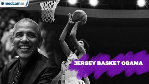 Jersey Basket Barack Obama Seharga Rp 1,7 Miliar
