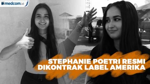 Stephanie Poetri Resmi Dikontrak Label Amerika