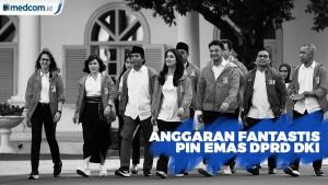PSI Tolak Anggaran Rp1,33 M untuk Pin Emas Anggota DPRD DKI