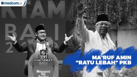 Muhaimin Iskandar: Ma'ruf Amin Sebagai Ratu Lebahnya PKB