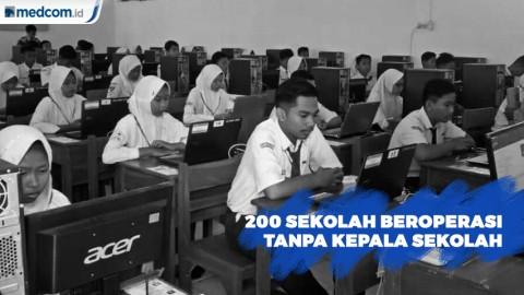 200 Sekolah di Lebak Beroperasi Tanpa Kepala Sekolah