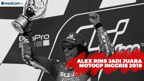 Alex Rins Kalahkan Marquez di Tikungan Akhir