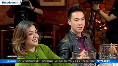 Nirina Zubir Pernah Anggap Daniel Mananta sebagai Kompetitornya