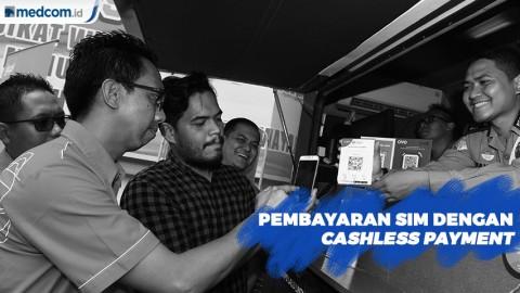 Ditlantas Polda Metro Jaya Kembangkan Cashless Payment