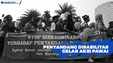 Aksi Pawai Budaya Tolak Diskriminasi Penyandang Disabilitas