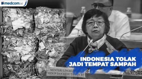 'Sampah Impor', Indonesia Tak Boleh Jadi Tempat Sampah Negara Maju