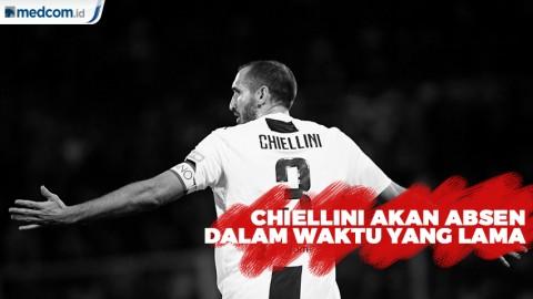 Juventus akan Kehilangan Chiellini Akibat Cedera Ligamen