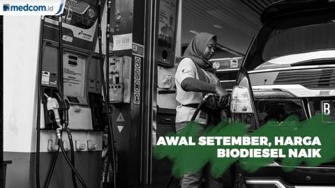 Harga Biodiesel Naik Mulai Awal September 2019