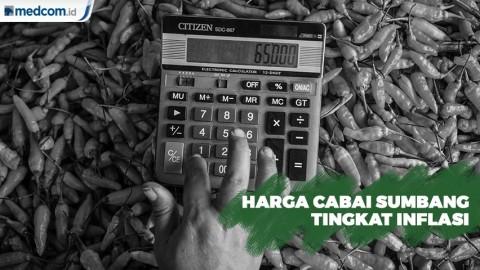 Harga Cabai Sumbang Tingkat Inflasi