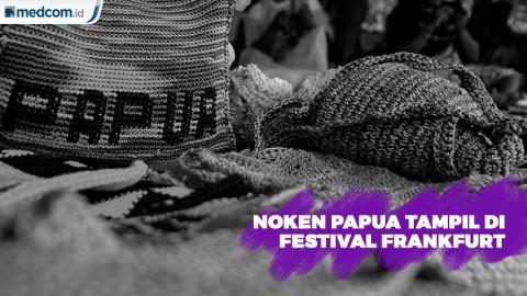 Noken Papua Tampil di Festival Frankfurt