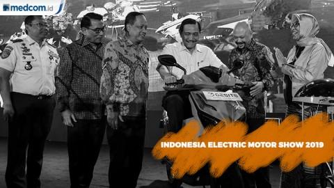 Ragam Kendaraan Listrik di Indonesia Electric Motor Show 2019
