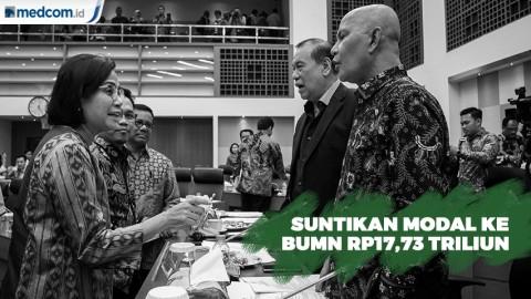 DPR Setujui Tambahan Modal ke 7 BUMN