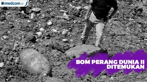 Bom Perang Dunia II Ditemukan Seberat 500kg