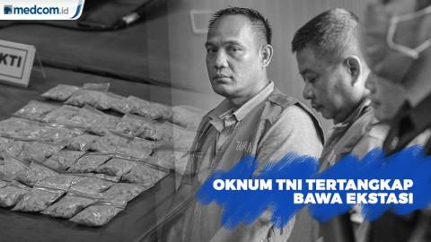 BNN Tangkap 5 Anggota TNI Bawa Ekstasi di Jakarta Barat