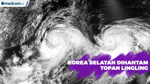 Korea Selatan Dihantam Topan Lingling