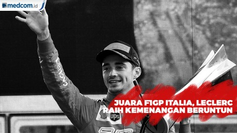 Juara F1GP Italia jadi Kemenangan Kedua Leclerc