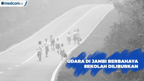 Kualitas Udara di Jambi Berbahaya , Siswa Diliburkan