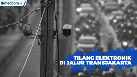 Pemberlakuan Tilang Elektronik di 12 Koridor Jalur TransJakarta