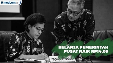 2020, Belanja Pemerintah Pusat Naik Rp14,09 Triliun